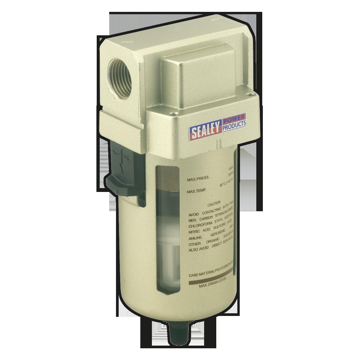 Air Filter Auto Drain Max Airflow 140cfm
