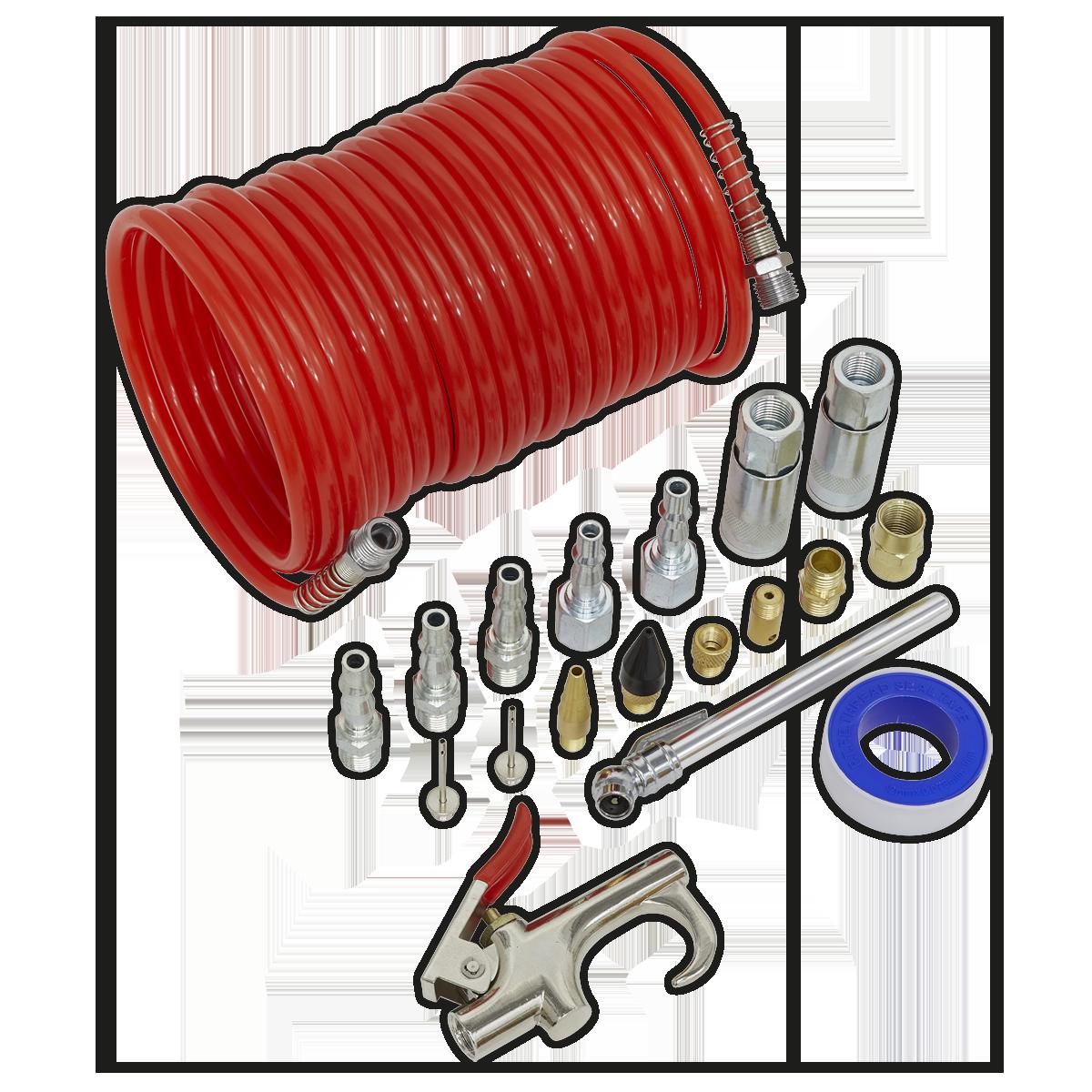 Air Blow Gun Kit 19pc