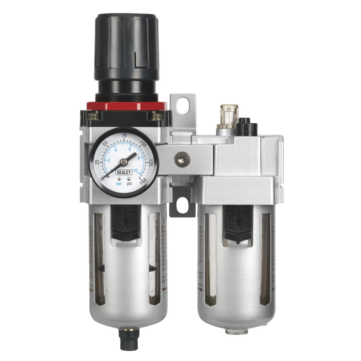 Air Filter/Regulator/Lubricator - High Flow