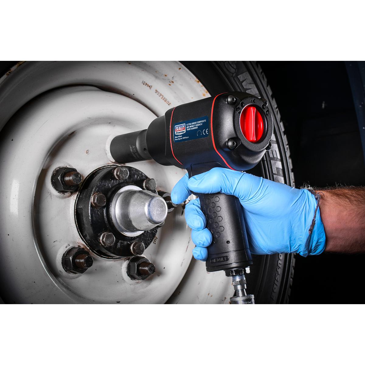 "Air Impact Wrench 1/2""Sq Drive - Twin Hammer"