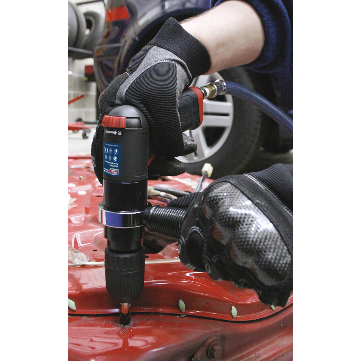 Air Drill Ø13mm with Keyless Chuck Composite Premier