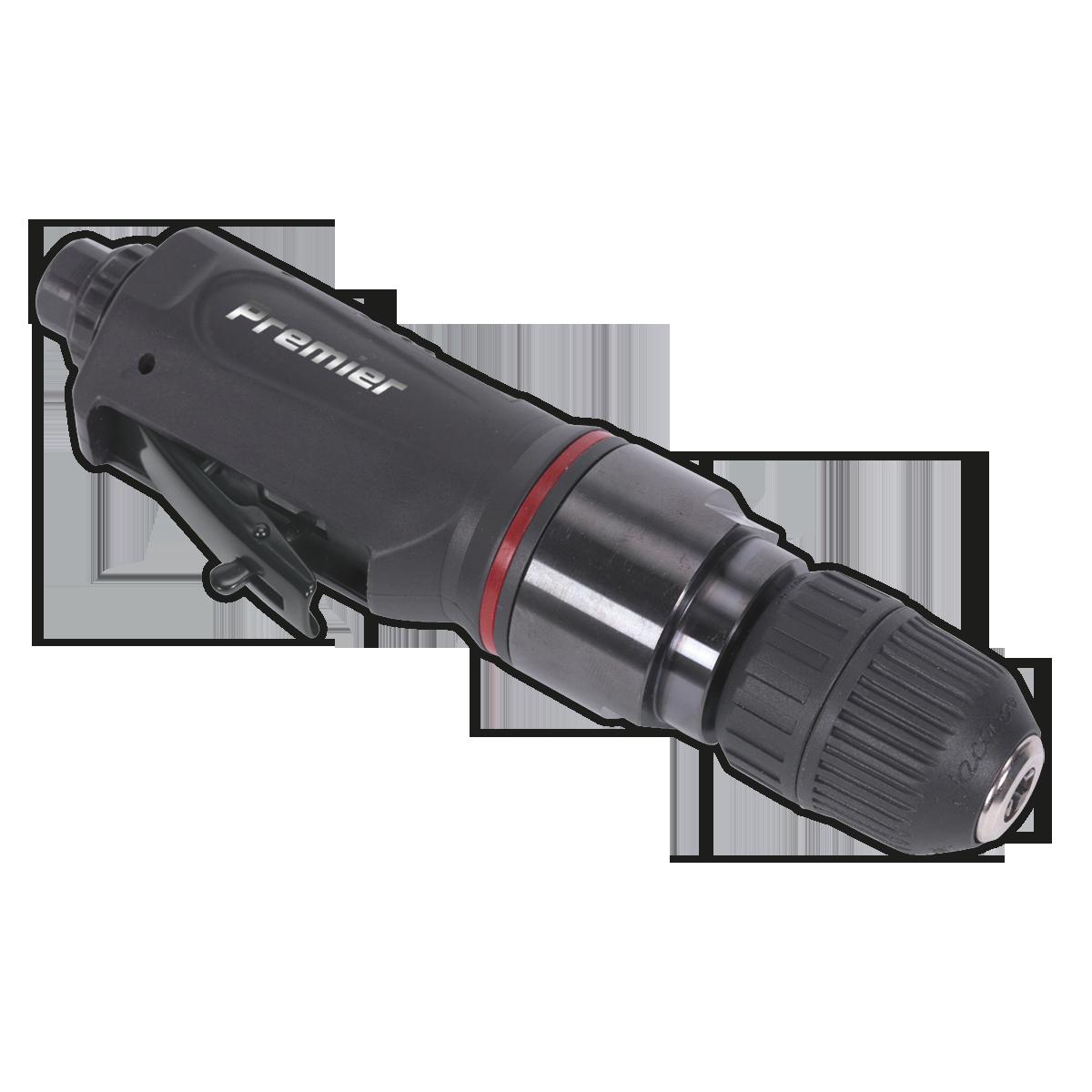 Air Drill Straight with Ø10mm Keyless Chuck Premier