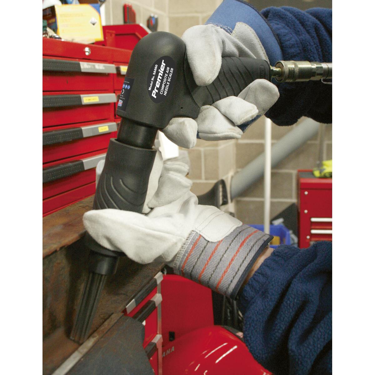 Air Needle Scaler Composite Pistol Type