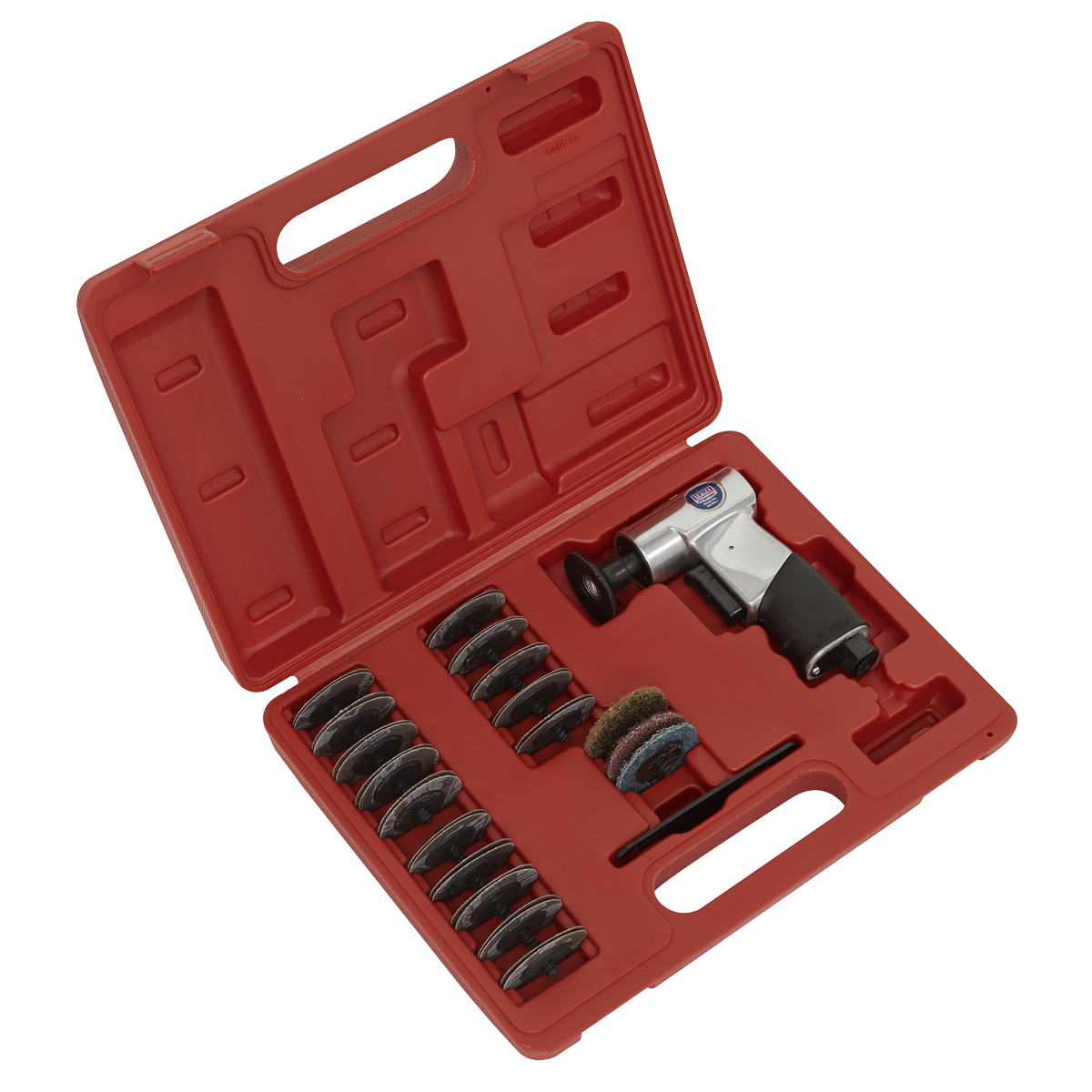 Air Mini Sander Kit 50mm 35pc