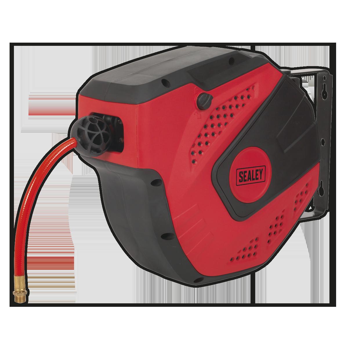 Air Hose Reel Auto-Rewind Control 10m Ø8mm ID - PU Hose