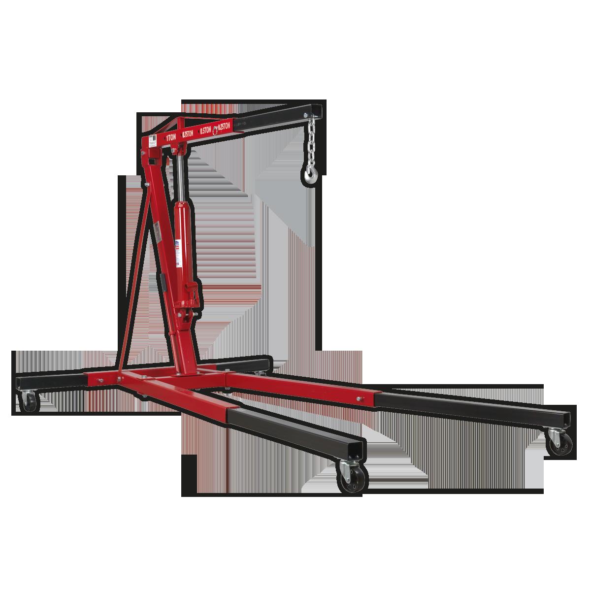 Crane 1tonne Long Reach Extendable Legs