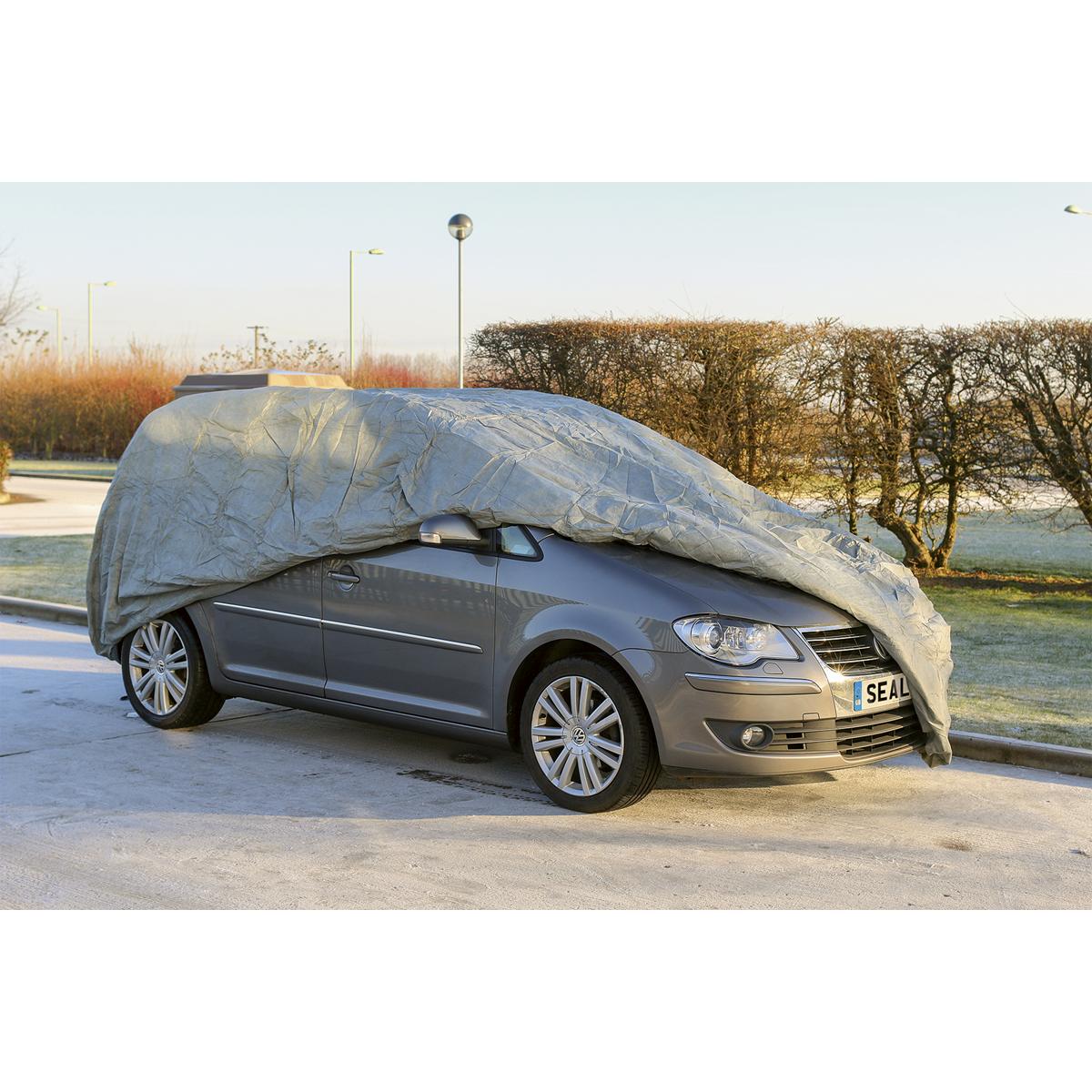 All Seasons Car Cover 3-Layer - Medium