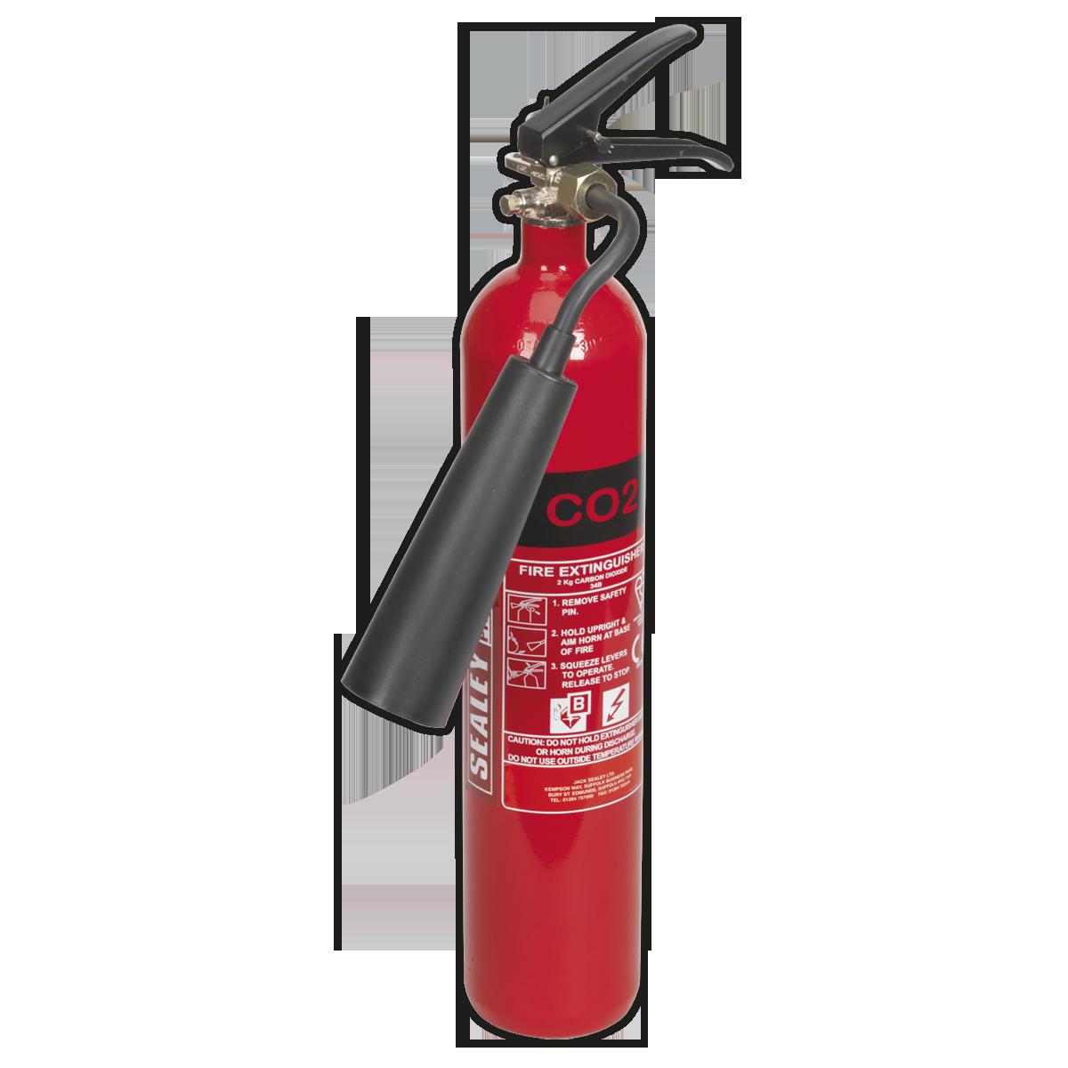 Fire Extinguisher 2kg Carbon Dioxide