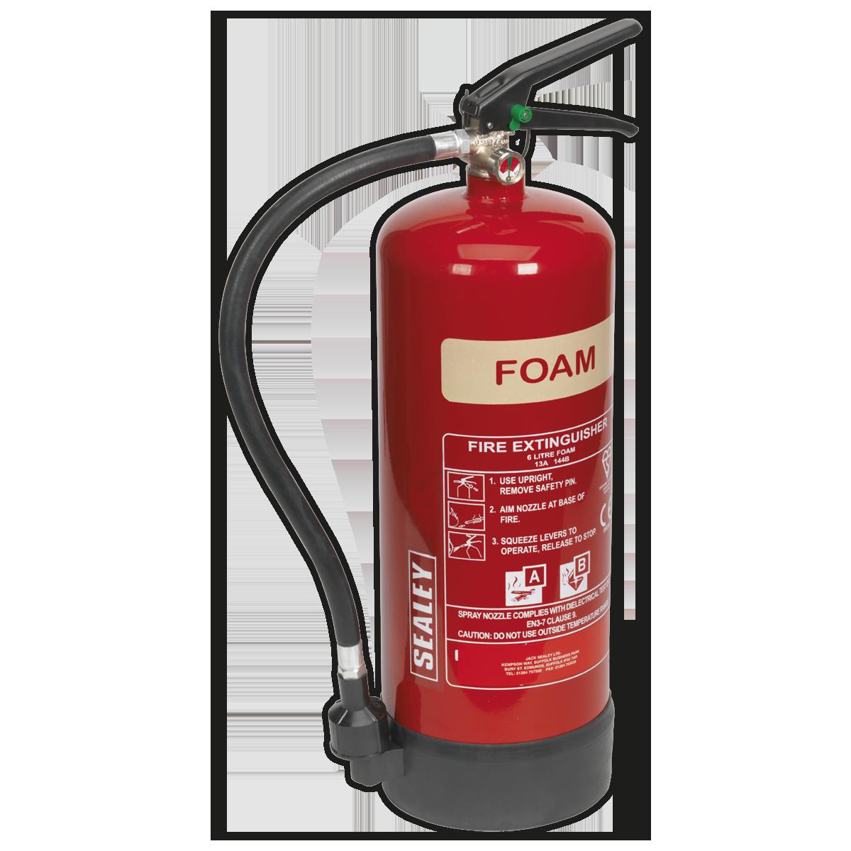 Fire Extinguisher 6L Foam