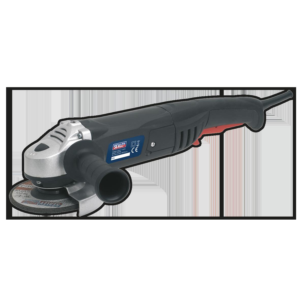 Angle Grinder Ø125mm 1000W/230V with Schuko Plug