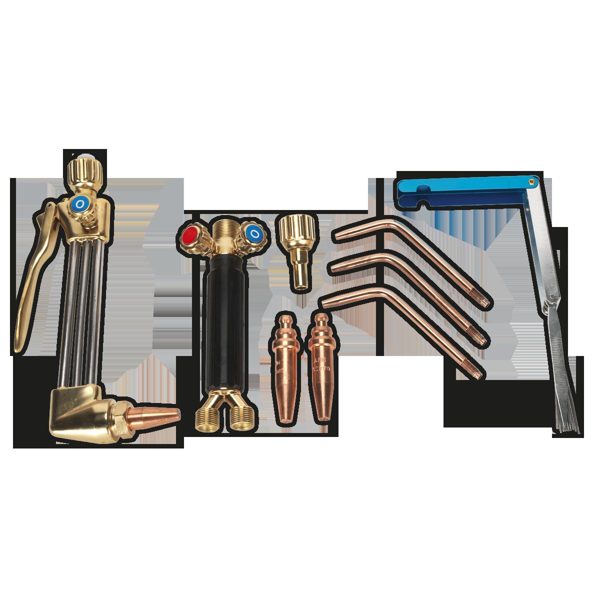 Oxyacetylene Welding/Cutting Torch Set