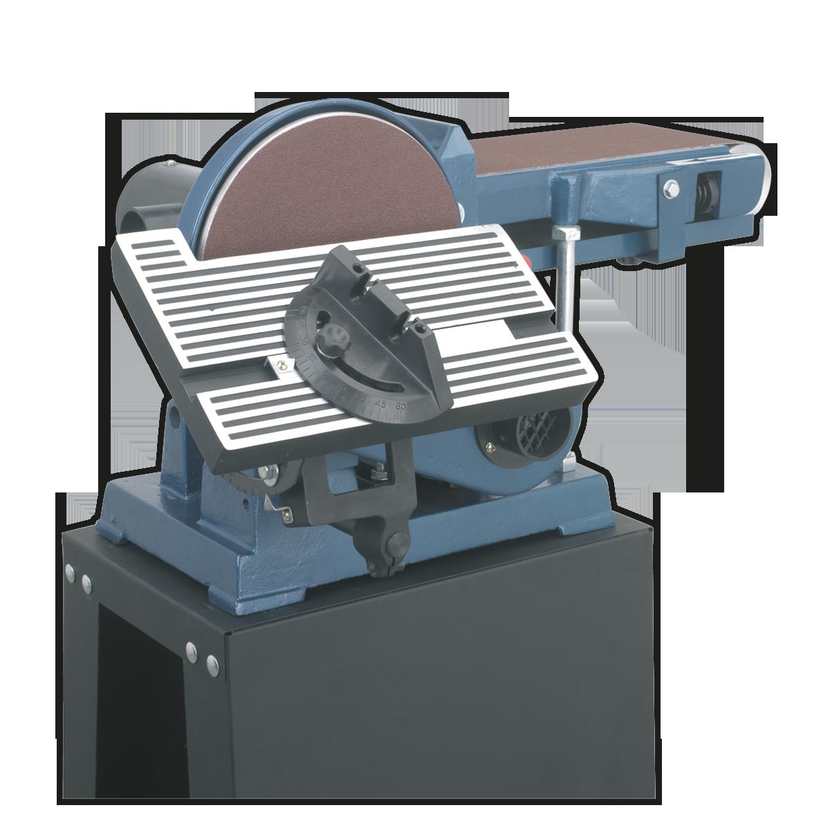 Belt/Disc Sander Floor Standing 1220 x 150mm/Ø230mm